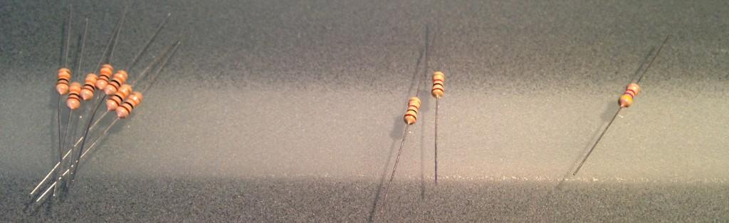 Separated Resistors