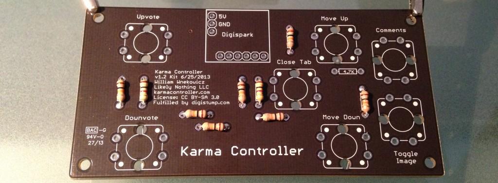 Board with Resistors
